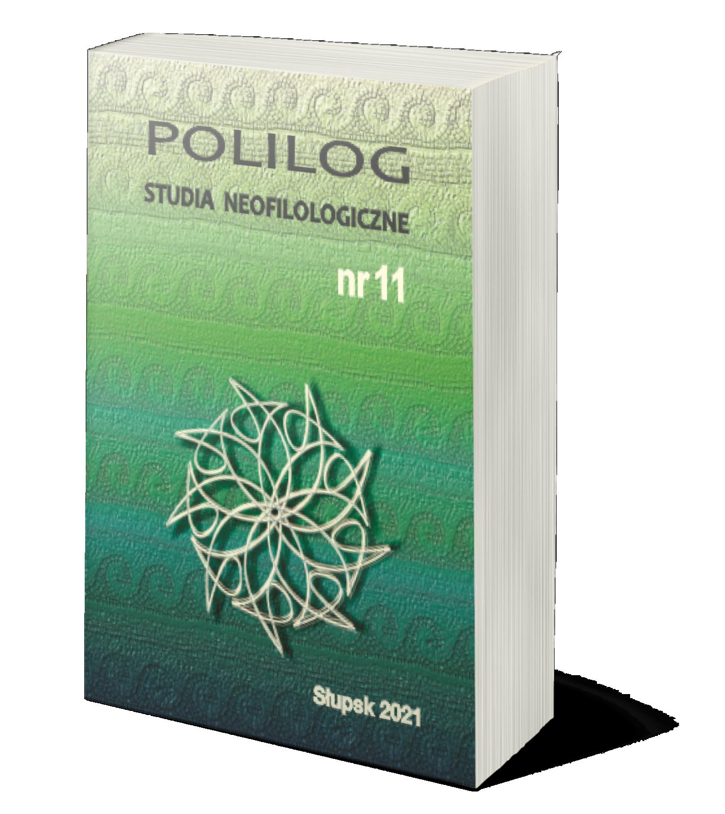 Polilog Nr 11 (2021) okładka