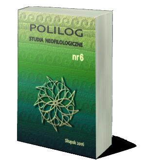 Polilog Nr 6 (2016) okładka